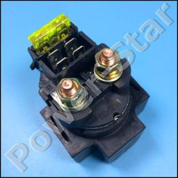 Wholesale starter relay solenoid - Wholesale- JS250 Jianshe 250CC ATV Quad Starter Solenoid Relay With JIANSHE LOGO ATV Parts