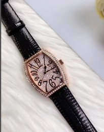 Wholesale Ladies Large Dial Watch - luxury Ladies all diamond watches, Franck Muller is a top watch brand, watchcase and exaggerated radian design, lovers watches Large dial