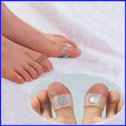 Wholesale Magnetic Silicon Toe Ring - Magnetic Toe Ring Silicon Diet Slimming Foot Massager 100pairs