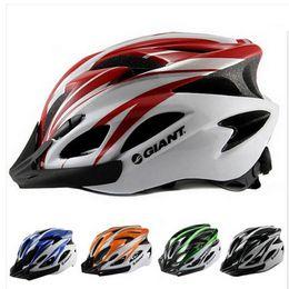 Wholesale Helmet Red - Wholesale-Giant MTB Bike Cycling Helmet Bicicleta Capacete Casco Ciclismo Bike Helmet Para Bicicleta Ultralight Bicycle Helmet