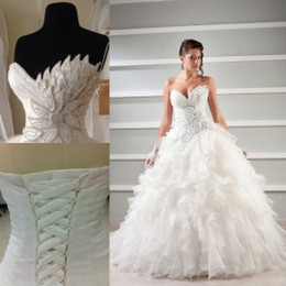 Where to Find Best Ball Gown Wedding Dresses Corset Back Online ...