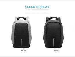 Wholesale Usb Macbook Air - Laptop Backpack External USB Phone Charge Compact Bag Anti-Theft Computer Back Pack Notebook Shoulder Bag for Men Women Students Schoolbag