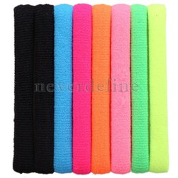 Wholesale Neon Hair Rubber Bands - 8Pcs Set Korean Neon Color Seamless High Elastic Hair Rope Rubber Band NVIE order<$18no track