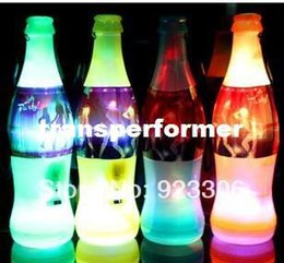 Wholesale Horn Cup World - Free shipping New arrived 60pcs lot The Brazil world cup beer bottle flashing whistle luminous loudspeaker bar Diba atmosphere02