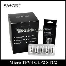 Wholesale Plus Replacement - Original SMOK Micro TFV4 CLP2 STC2 MTL Coil Head Replacement fit Micro TFV4 Plus Nano Basic Tank Nano R40 Micro One Kit