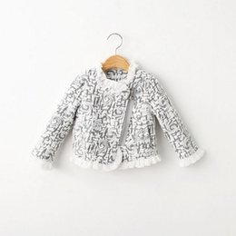 Wholesale Lace Cardigans For Kids - Children Jacket Girls Winter Coats Clothes Cardigan Prubcess for Kids Clothing 2015 Autumn Cotton Lace Floral Outerwear ZZ-433