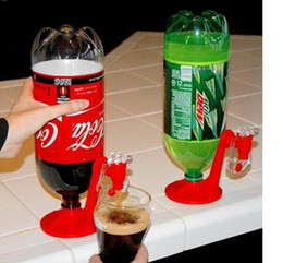 Wholesale Mini Drinks Wholesale - Mini Upside Down Drinking Fountains Fizz Saver Cola Soda Beverage Switch Drinkers Hand Pressure Water Dispenser Automatic DHL UPS Factory