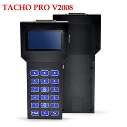 Wholesale Professional Tacho Pro - Professional Tacho Pro 2008 July Version PLUS Universal Dash Programmer Tool UNLOCK Multi-languages DHL EMS Free shipping