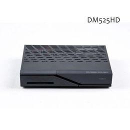 Wholesale Tuner Satellite - DM525HD 2000DMIPS processor with S2 C T2 Triple Tuner Linux Tv sim230 Satellite Receiver dm525 tv box