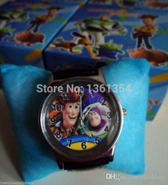 Wholesale Toy Story Watches Wholesale - Free shipping 6 pcs Toy story Children's watches with boxes wholesale 0501#