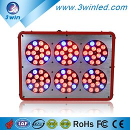 Wholesale Led 3w Grow Greenhouse - Apollo6 90*3W 270W LED Grow Light Red Blue 8:1 or Full Spectrum 7-10 Bands for Greenhouse Hydroponic Systems