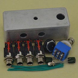 Wholesale Diy Kit Guitars - DIY True-Bypass Looper Effect Pedal Guitar Effect Pedal Looper Switcher true bypass guitar pedal 1 Loop switch Kits