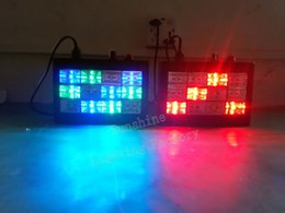Wholesale Cheap Party Strobe Light - Wholesale-Cheap 12W RGB LED KTV DJ Stage Lights Sound Active Strobe Lamp With Flashing Spotlight Disco Chirstmas Lighting Party