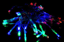 Wholesale Flashing Lights Discount - Discount for 2m 20leds Christmas lightings decoration wedding light holiday string lights 3*AA Battery power operated LED string