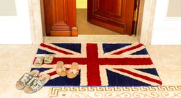 Wholesale Outdoor Rug Black - Hot Retail Comfort Lovely Floor Hallway Indoor Outdoor Carpets Doormats Pad Matting Protect Rugs Floor Cover Flag England Free Shipping
