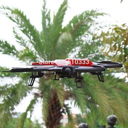 Wholesale Large Helicopter Remote Control - Wholesale-JJRC F182 2.4Ghz UFO rc quadcopter 4CH Large radio remote control drone helicopter More stable than U818A