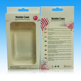 """crystal package box for iphone case Canada - Crystal Blister Retail Package Box Paper Plastic Packaging Packing Boxes For Mobile Phone Case iPhone 7 6S 6 4.7"""" 5S For Samsung S5 Note 2 3"""