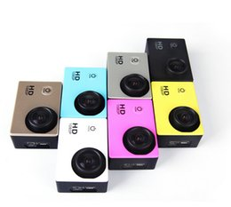 2019 caméra d'action automobile hd SJ4000 style A9 2 pouces LCD écran 1080p Full HD Action Camera 30M Caméscopes Étanches SJcam Casque Sport DV Voiture DVR DHL gratuit OTH160 promotion caméra d'action automobile hd