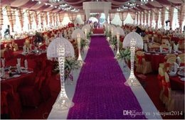 Wholesale Move Shooting - HoT Selling Romantic wedding carpet Wedding Favors 3D Rose Petal Aisle Runner For Wedding Party Decorations Supplies Shooting Prop