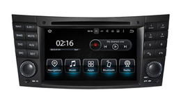 Wholesale Mercedes Gps Radio - Android 7.1 Car DVD GPS Navigation for Mercedes Benz E Class W211 E200 E220 E240 E270 E280 with Radio BT USB WiFi