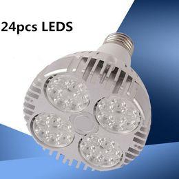 luce spot 45w Sconti 10PCS / lotto 45W E27 bianco caldo / bianco / freddo LED bianco illuminazione PAR30 lampadina super luminosa, 90V-260V downlights luce di pista spot 2700-7000 K