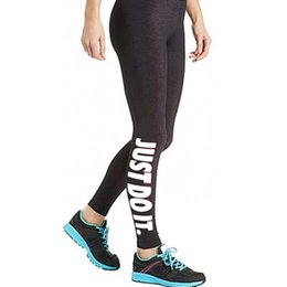 Wholesale Cotton Crop Trousers - S5Q Womens Capri Sport Pants Running High Waist Cropped Leggings Fitness Trouser AAAELE