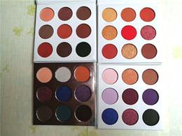 paleta de sombras de ojos púrpura Rebajas ¡¡en stock!! Sombra de ojos de 9 colores BRONCE y paleta BURGUNDY Preorder Cosmetic 9 colores PALETA PÚRPURA y POLVO PRESIONADO DHL Envío gratis