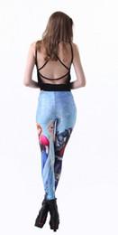 Wholesale Best Selling Leggings - Europe and America best sell digital printing leggings Pants women's leggings star sky sexy thin leggings yzs168