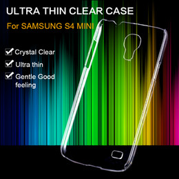 Wholesale Galaxy S4 Mini Pc - Wholesale-S6 S6 Edge S5 S4 S4 Mini Note 4 Clear Case Ultra Crystal Invisible Hard PC Cover For Samsung Galaxy Transparent Back Shell Capa