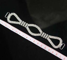 Canada 6pcs cristal strass bikini connecteurs / boucle en métal chaîne pour la natation porter bikini décoration Offre