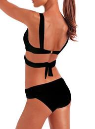 Wholesale Bikini White Secret - 2016 New Women Swimsuit Bikini Sexy Bandage Push up victoria secrets bikini Bandeau bikinis for women Swimwear swimsuits for women wholesale