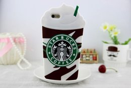 2019 starbucks para iphone 3D Starbucks Coffee Funda de silicona blanda para iphone X 6 6S 7 8 Plus Galaxy S7 S8 S9 Plus A3 A5 A7 2017 rebajas starbucks para iphone