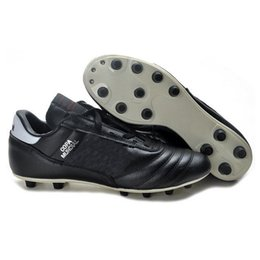 Wholesale Copa Football Boots - Wholesale-Hot sell Free Shipping New Copa Mundial FG Football Shoes Soccer Cleats white,black soccer boots,mens football boots size:39-45