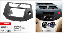 Wholesale Radio Great Wall - CARAV 11-383 Top Quality Radio Fascia for GREAT WALL Voleex C20 2011+ (Left wheel) Stereo Fascia Dash CD Trim Installation Kit