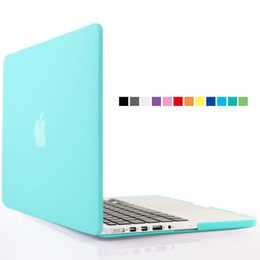 Wholesale Laptop Apples - Matte Clear Crystal Rubberized Frosted Hard Plastic Case Cover For Apple Macbook Air 11 Pro 13 12 with Retina