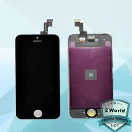 iphone 5s digitizer ersatzgroßverkauf Rabatt Wholesale-LCD-Bildschirm für 5s mit Touch-Display Digitizer und Rahmenmontage Ersatz + Werkzeuge Kostenloser Versand