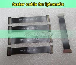 Câble d'extension d'écran lcd en Ligne-Test Flex câble pour iPhone6S 4.7inch Pièces de rechange LCD Écran Tactile Digitizer Test Extension Câble Test Flex 15pcs / lot