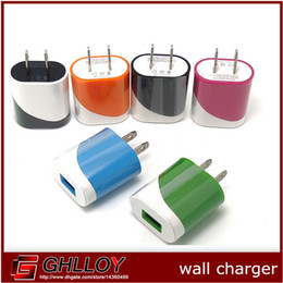 Wholesale Apple Eggs - colorful 5V 1A Us wall charger adapter plug egg roll style charger for apple iphone 4 5 5c 6 for samsung 100pcs up