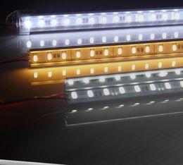 Wholesale Led Light Bar 1m - 1M 60 SMD 5050 LED Rigid Strip Light Bar Lamp Warm Cool White Under Cabinet Lighting + 3M Adhesive Tape on Back Side