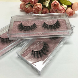 Wholesale Making 3d Logos - Private Logo Acceptable silk 3D faux Mink Hair Eyelashes Messy Eye lash Extension Sexy Eyelash Full Strip Eye Lashes