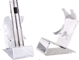 Caja mod stands online-Acrílico y cigarrillo vitrina soporte de cigarrillo electrónico estante de exhibición caja de rack de exhibición para e cigarrillo ego batería ecig mecánico mod más barato