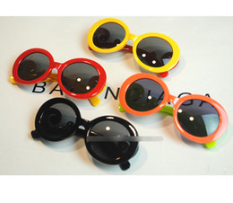 Wholesale Cool Baby Sunglasses - New Arrival Baby Girls Boys Fashion Sunglasses cool brand D Children Sunglasses Children Beach Sunblock Accessories A7261