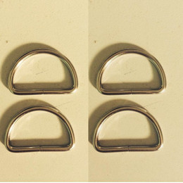 Wholesale Heavy Webbing - Free DHL shipping Metal key ring 1 inch(25mm) heavy Dee Rings for webbing strapping D rings