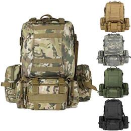 Bolsas militares online-El más nuevo deporte al aire libre ciclismo senderismo mochilas de trekking, gran capacidad militar táctica mochila, combinación de múltiples funciones bolsas