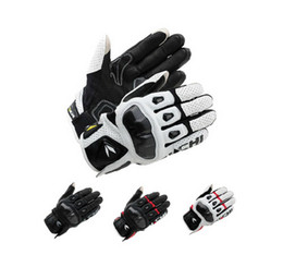 Wholesale Rs Racing - 2015 latest Motorcycle Racing gloves RS TAICHI RST410 South Korea imported leather Punch carbon fiber motorbike gloves 4 colors