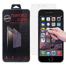 Wholesale Tempering Glass Film - For iPhone X 8 7 6 Plus Samsung Note 8 S8 S7 HTC M8 LG K7 Screen Protector Tempered Glass Screen Protectors Film