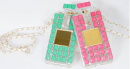 Wholesale Diamond Case For Galaxy S4 - Luxury Rhinestones Diamond Cellphone CoveTPU for Samsung Galaxy Note4 Note3 Note2 S6 edge S5 S4 Perfume Bottle Cases Wholesale Free Shipping