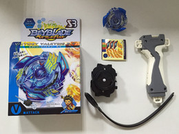Wholesale Big Metal Spinning Top - Fashion Metal Fusion Beyblade Spinning top 4D L-DERAGO DESTROY BIG BANG PEGASIS PHANTOM ORION with Hand and big pull Launcher