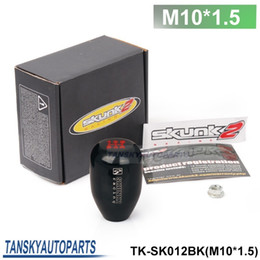Wholesale Cars Speed - Tansky - Sk2 (M10*1.5) Racing 5 SPeed Car Shift Knobs (black blue red golden grey brown ) HQ TK-SK012 (M10*1.5)