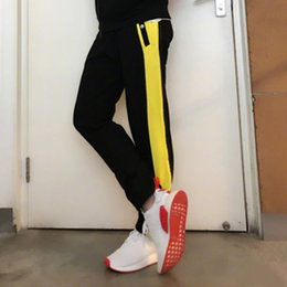 Wholesale Black Full Fashioned Stockings - Fashion Casual Men and Women Sports Loose Thin Black Yellow S M L XL XXL in stock 10000pcs dongguan_wholesale 2018